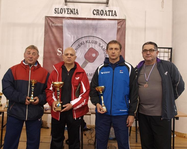 14. kupa Grada Samobora u stolnom tenisu - 40-60-godina