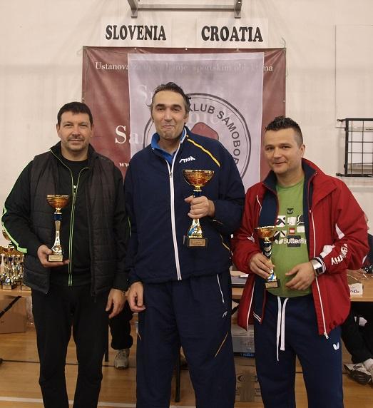 14. kupa Grada Samobora u stolnom tenisu - do 40.god