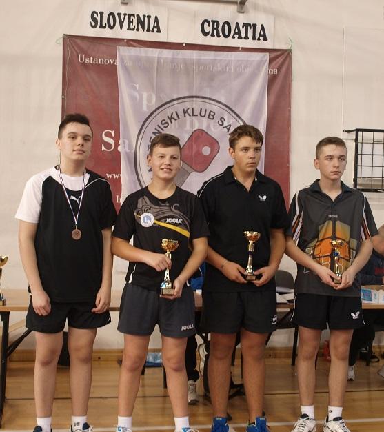 14. kupa Grada Samobora u stolnom tenisu - k/m