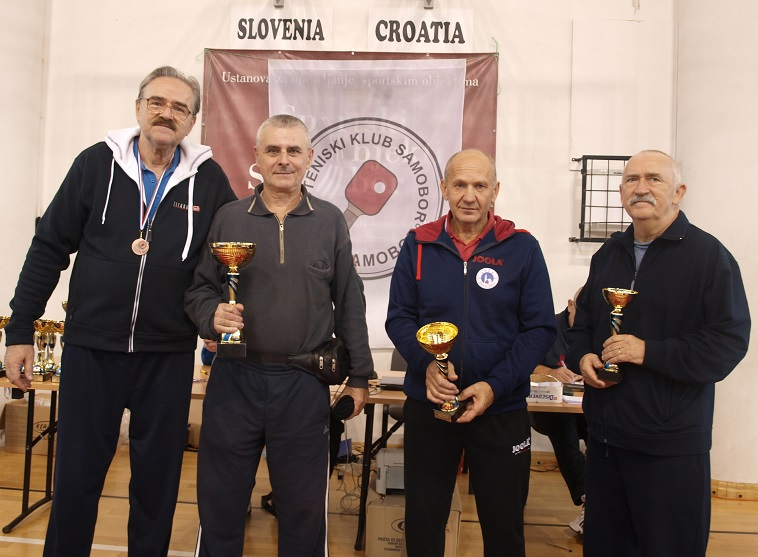 14. kupa Grada Samobora u stolnom tenisu - preko 60. godina