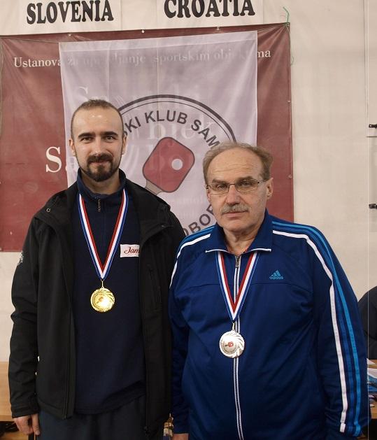 14. kupa Grada Samobora u stolnom tenisu - veterani utješno